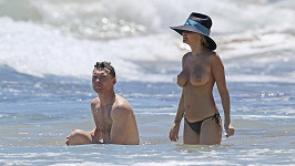Lara Bingle a Sam Worthington