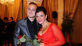 Andrea Kalivodová s přítelem Filipem Zíkou.