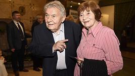 Ladislav Trojan s manželkou Olgou.