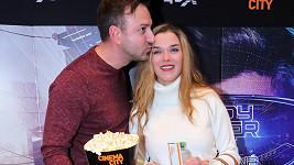 Irena Máchová s partnerem