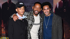 Will Smith se syny Jadenem a Treyem