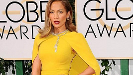 Jennifer Lopez na Zlatých glóbech