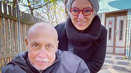Andrej Hryc s dcerou Wandou