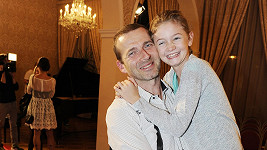 Petr Havlíček s dcerou