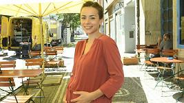 Marcinková hrála s vycpaným bříškem.