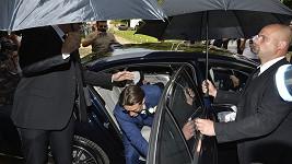 Ondřej Brzobohatý se plíží na svou svatbu.