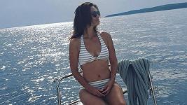 Moderátorka na dovolené v Chorvatsku