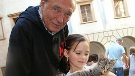 Karel Gott a jeho dcera Charlotte Ella Gottová.