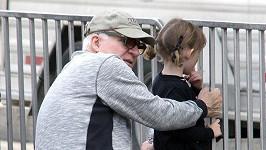 Steve Martin s dcerou v Beverly Hills