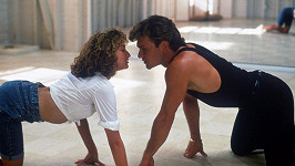Patrick Swayze a Jennifer Grey v Hříšném tanci