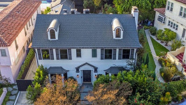 V tomto domě žila herečka se svým synem.