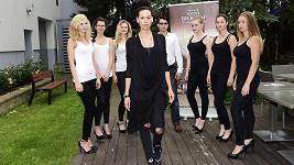 Kateřina Votavová na modelingovém kurzu, kde byla mentorkou.