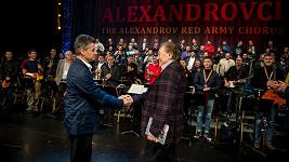 Karel Gott s Alexandrovci v říjnu 2015