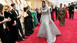 Janelle Monae na udílení Oscarů loni