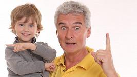 Roztomilost sama! Michal Nesvadba ukázal pětiletého syna Marka.