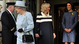 Královně, Camille i Kate se nákupy líbily.
