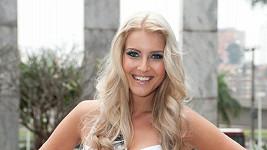 Česká Miss Jitka Nováčková.