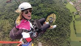 Moravcová si osvojila další adrenalinový sport.