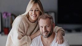 Renata Langmannová s manželem Ondřejem Novotným
