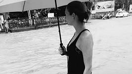 Tereza Zimová na dovolené v Thajsku