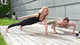 Kristina s Vaškem spolu denně cvičí.