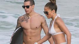 Jennifer i Casper se udržují ve skvělé kondici.