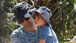 Sacha Baron Cohen je milující tatínek.