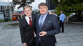 Artur Štaidl s otcem Ladislavem