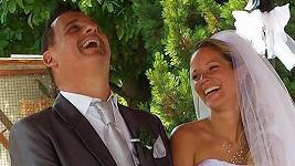 Davide Mattioli s manželkou Lenkou