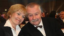 Jaroslava Brousková s milovaným manželem Ladislavem Potměšilem