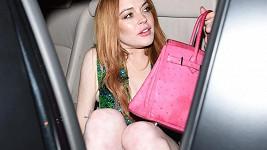Lindsay Lohan byla jen krůček od další ostudy.