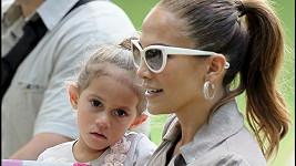 Jennifer Lopez a malá Emma.