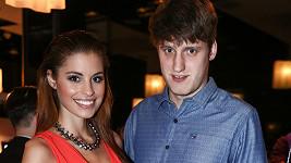 Tereza Budková ve společnosti konečně s přítelem Michalem.