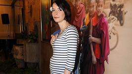 Dceři Anny Šiškové už roste těhotenské bříško.