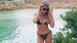 Jitka Nováčková má skvělou figuru.