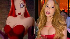 Marii Vieru fanoušci srovnávají s Jessicou Rabbit.