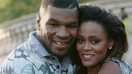 Mike Tyson s Robin Givens v době, kdy byli šťastným párem.