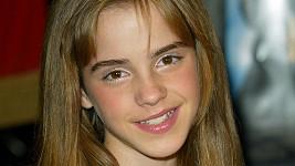 Ema Watson v době, kdy hrála v sérii o Harrym Potterovi Hermionu.