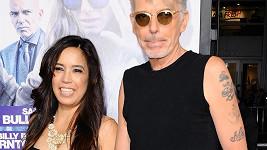Billy Bob Thornton s manželkou Connie a premiéře jeho nového filmu.