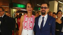 Lenka Vlasáková a Jan Dolanský na karlovarském festivalu