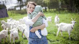 Se čtyřměsíčním synem Jáchymem
