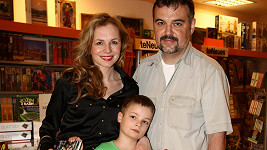 Martina Kociánová s rodinou