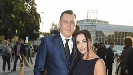 Michaela Kuklová s přítelem Josefem