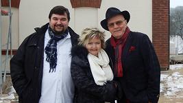 S Janem Přeučilem a Evou Hruškovou