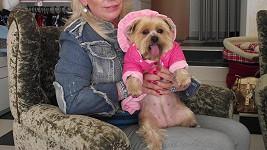 Krampolová před časem své fence koupila i slušivý obleček.