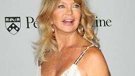 Goldie Hawn na oslavě založení institutu na výzkum rakoviny.