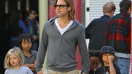 Brad Pitt je přísný táta.