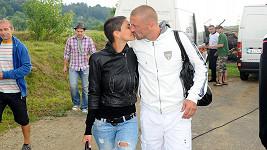 Vlaďka Erbová s přítelem Tomášem Řepkou