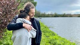 Dominika Branišová a Jaromír Jágr