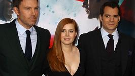 Ben Affleck, Amy Adams a Henry Cavill